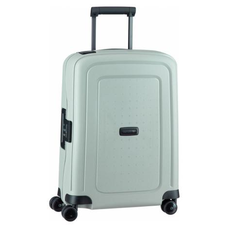Samsonite Trolley + Koffer S'Cure Eco Spinner 55 Post Consumer Green Grey (34 Liter)