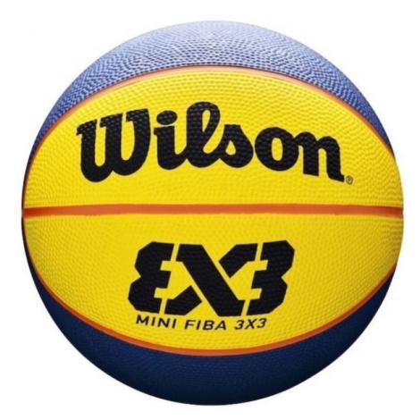 Wilson FIBA 3X3 MINI RUBBER BSKT - Mini Basketball