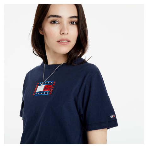 Tommy Jeans Relaxed Timeless Flag Tee Twilight Navy Tommy Hilfiger