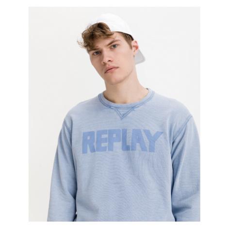 Replay Biopack Sweatshirt Blau