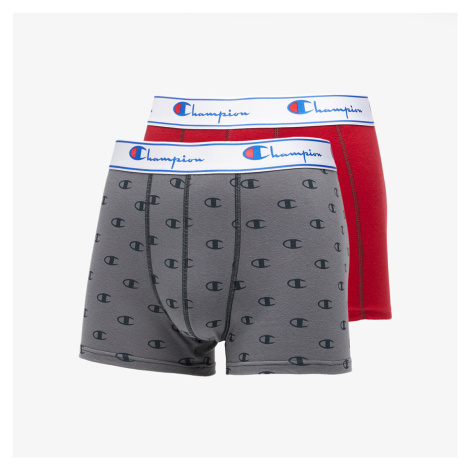 Champion 2 Pack Boxers Red/ Grey
