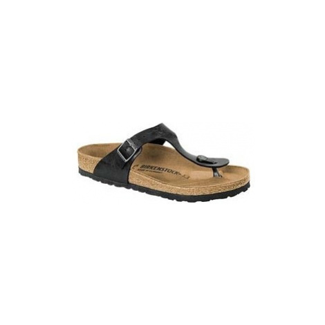 Birkenstock GIZEH schwarz - Pantoffeln für Damen