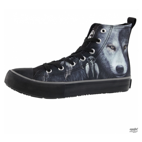High Top Sneakers Frauen Unisex - WOLF CHI - SPIRAL - T118S001