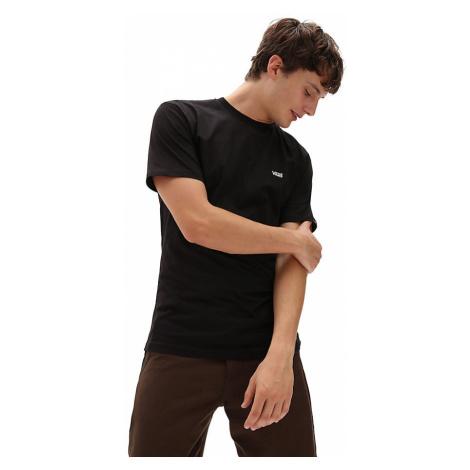 VANS Left Chest Logo T-shirt (black-white) Herren Schwarz
