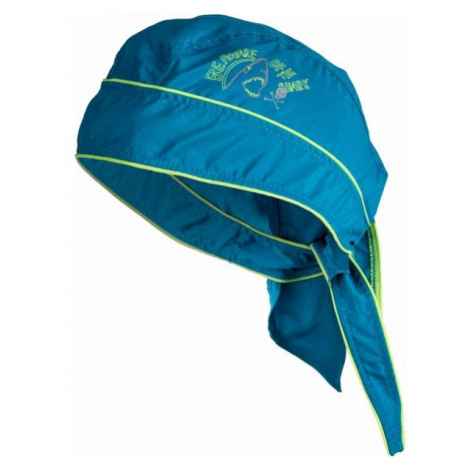 Lewro PALINO blau - Kinder Kopftuch