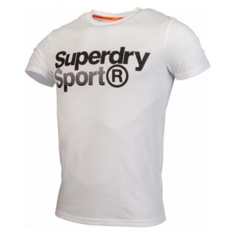 Superdry CORE SPORT GRAPHIC TEE weiß - Herrenshirt