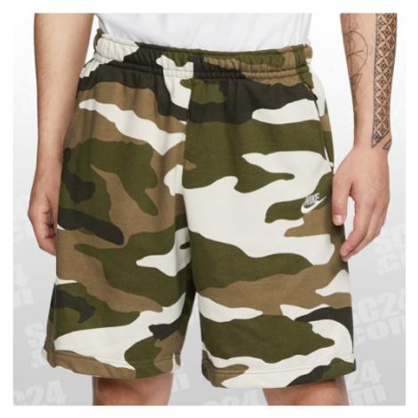 Nike Sportswear Camo Club Shorts camouflage Größe M