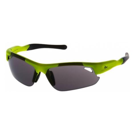 Radsport Sport- Brille Rogelli RAPTOR mit austauschbar gläser, reflexion yellow 009.237.