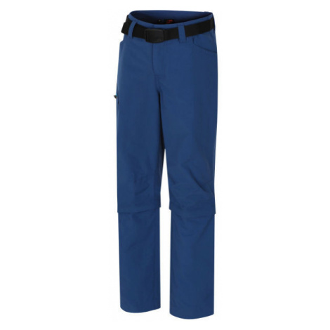 Hannah COASTER JR blau - Kinder Sporthose mit abnehmbaren Hosenbeinen