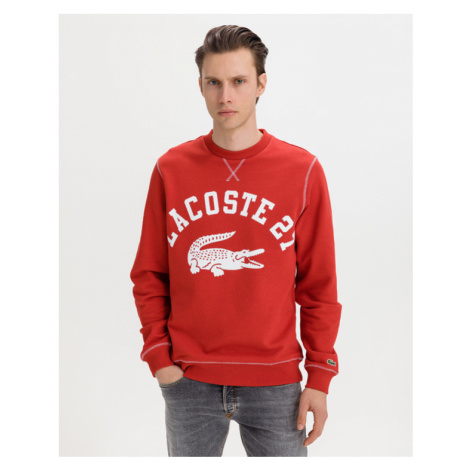 Lacoste Sweatshirt Rot