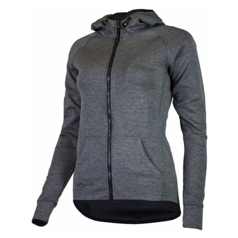All-in Ladies funktionell Sweatshirt Rogelli TRAINING mit Kapuze, grey 050.609.