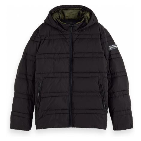 Scotch & Soda Jacket Men CLASSIC HOODED PRIMA LOFT JACKET 152012 Black Schwarz 0008