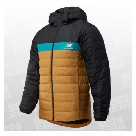 New Balance Athletics Terrain Insulated 78 Jacket braun/schwarz Größe M