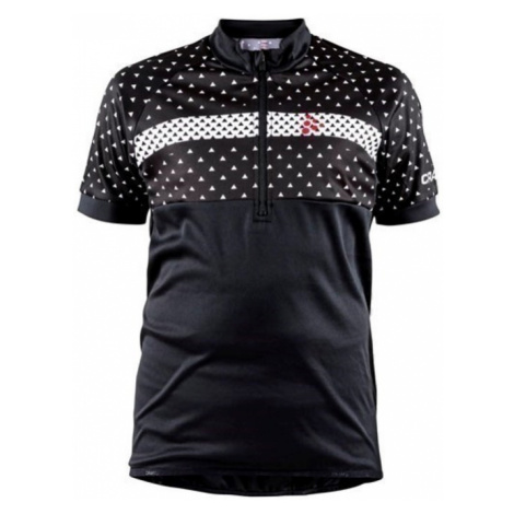 Trikot CRAFT Bike JR 1906127-999900 - black mit rot
