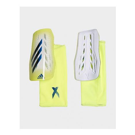 Adidas X League Schienbeinschoner - Solar Yellow / Black / Royal Blue - Damen, Solar Yellow / Bl