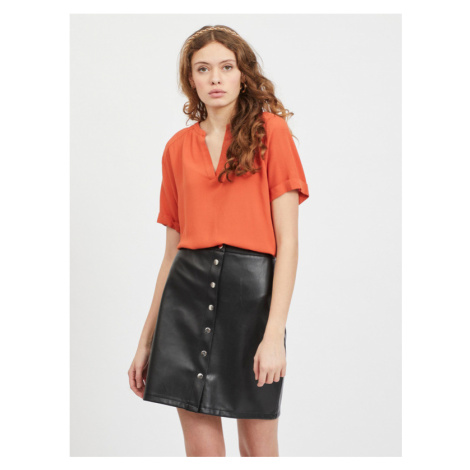 Vila Ashly Bluse Orange