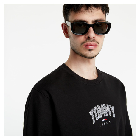 Tommy Jeans Lightweight Tommy Crewneck Black Tommy Hilfiger