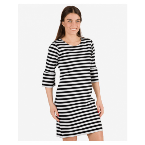 Sam 73 Kleid Schwarz Weiß