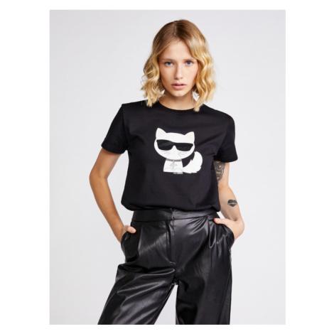 Karl Lagerfeld T-Shirt Schwarz