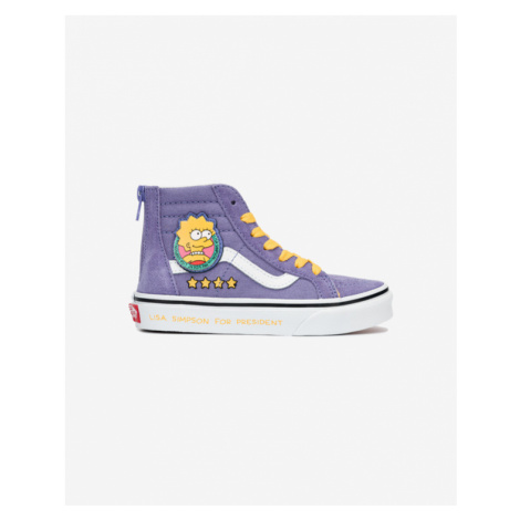 Vans The Simpsons Sk8-Hi Lisa 4 Kinder Tennisschuhe Lila
