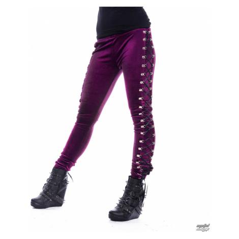 Damen Leggings CHEMICAL BLACK - BEETLE - Lila - POI548 S