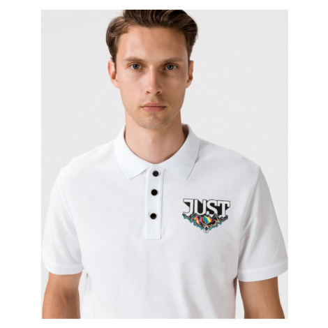 Just Cavalli Poloshirt Weiß