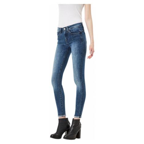 G-Star Damen Jeans Lynn Mid Waist - Super Skinny - Blau - Medium Aged G-Star Raw