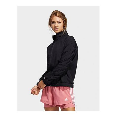 Adidas Woven Badge of Sport Jacke - Black / White - Damen, Black / White