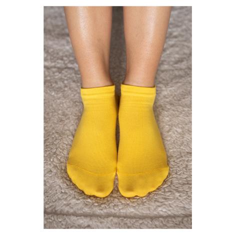 Barfuß-Socken - gelb 43-46