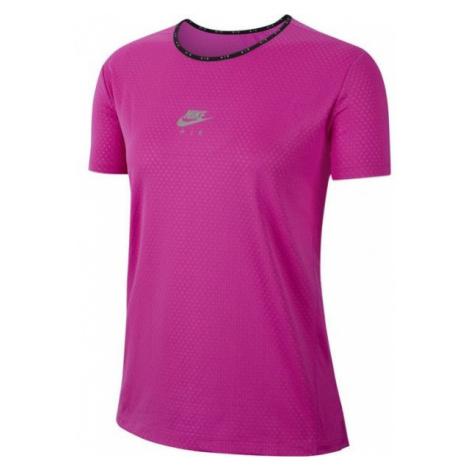 Nike AIR TOP SS W rosa - Damen Sportshirt